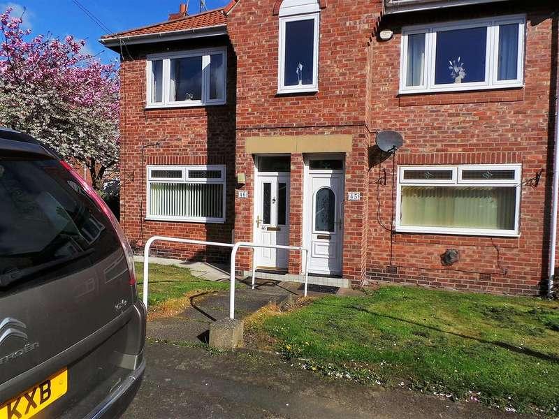 2 Bedrooms Flat for sale in Poplar Crescent, Dunston, Gateshead NE11