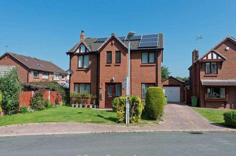 3 Bedrooms Detached House for sale in Harvard Close, Norton, Runcorn