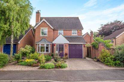 4 Bedrooms Detached House for sale in Queen Mary Court, Derby, Derbyshire