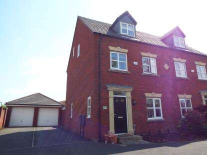 3 Bedrooms Semi Detached House for sale in Rossington Gardens, St. Helens, Merseyside, WA9