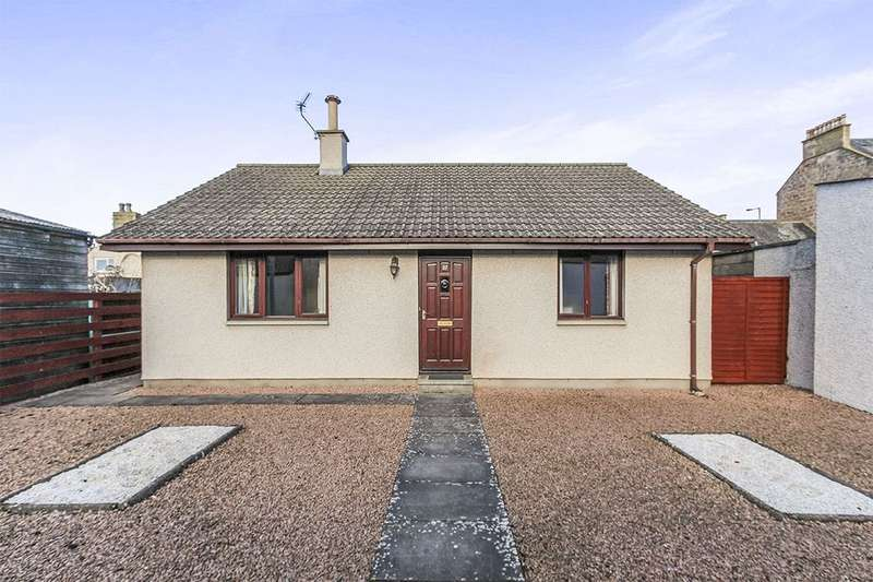 2 Bedrooms Detached Bungalow for sale in Clyde Street, Invergordon, IV18