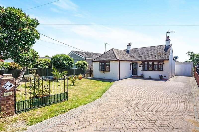 2 Bedrooms Detached Bungalow for sale in Minster Road, Minster On Sea, Sheerness, ME12