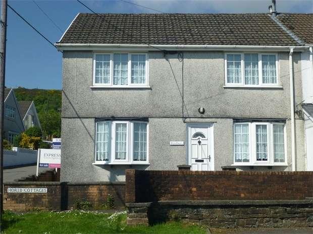 3 Bedrooms End Of Terrace House for sale in Heolgerrig, Merthyr Tydfil, Mid Glamorgan