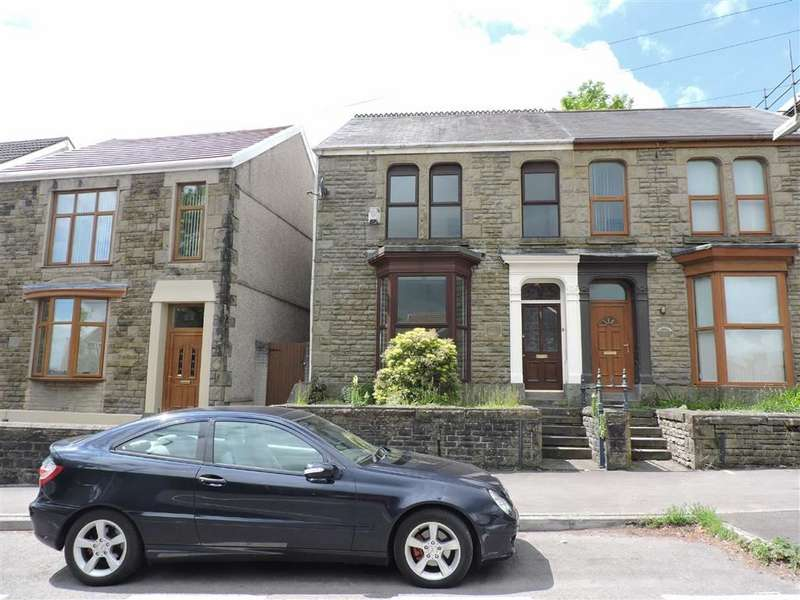 4 Bedrooms Semi Detached House for sale in Pentrepoeth Road, Morriston