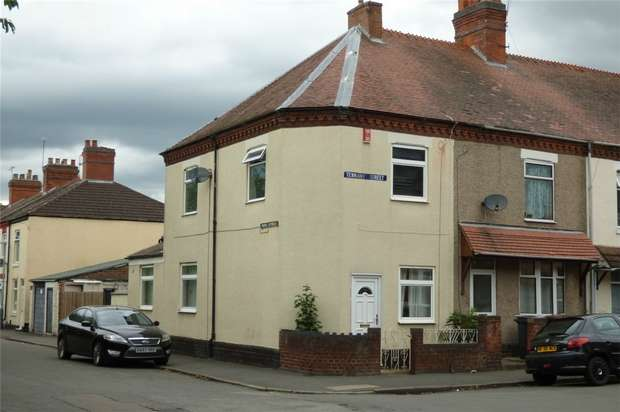 2 Bedrooms End Of Terrace House for sale in Tennant Street, Attleborough, Nuneaton, Warwickshire