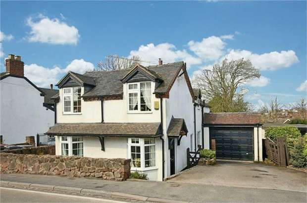 3 Bedrooms Detached House for sale in The Old Post Office, Newcastle Road, Loggerheads, Market Drayton, Staffordshire