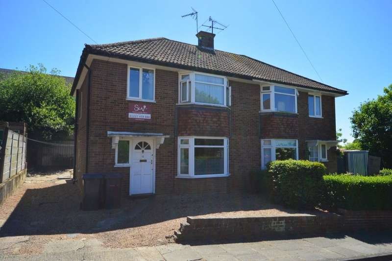4 Bedrooms Semi Detached House for sale in St. Martins Close, Canterbury, CT1