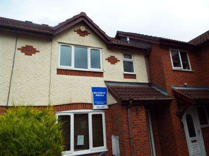 3 Bedrooms Terraced House for sale in Eastfield Court, Wrexham, Wrecsam, LL13