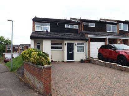 3 Bedrooms End Of Terrace House for sale in Downside Gardens, Potton, Bedfordshire