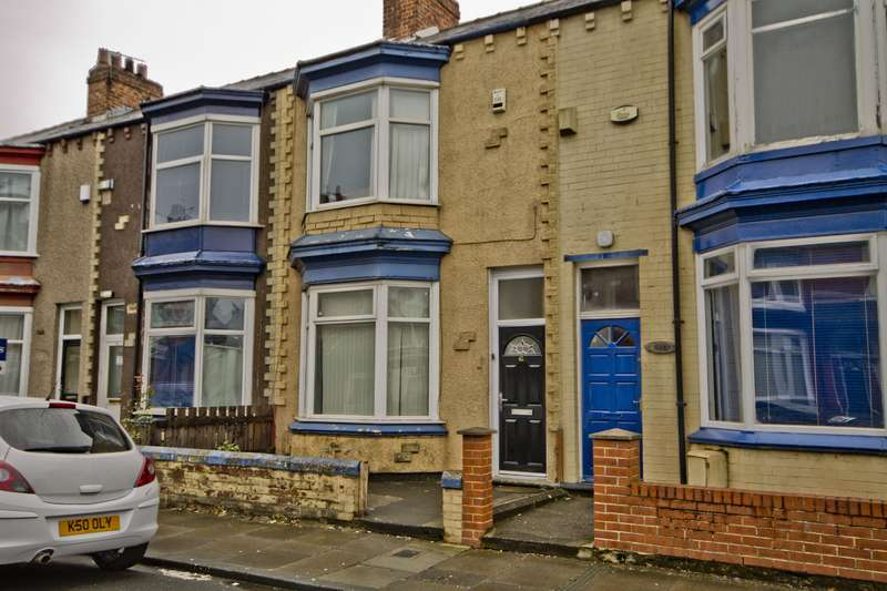 3 Bedrooms Terraced House for sale in Wellesley Road, Middlesbrough, TS4 2DQ