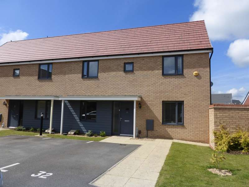 3 Bedrooms Semi Detached House for sale in Ellis Close, Wootton, Bedford, MK43