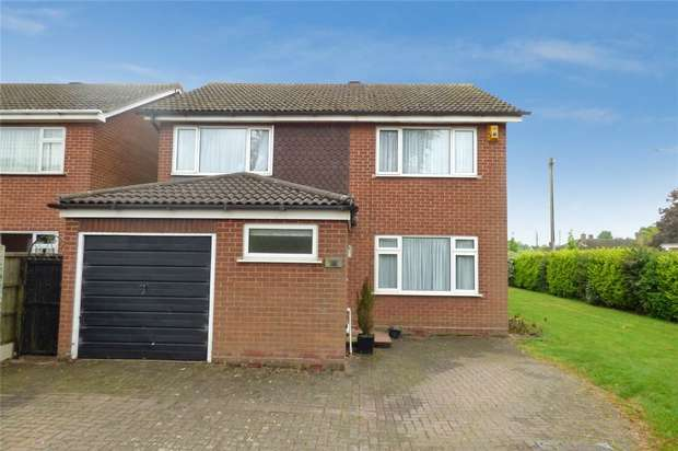 4 Bedrooms Detached House for sale in St Nicolas Park Drive, St Nicolas Park, Nuneaton, Warwickshire