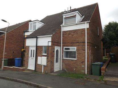 2 Bedrooms Semi Detached House for sale in Maple Close, Forest Town, Mansfield, Nottinghamshire