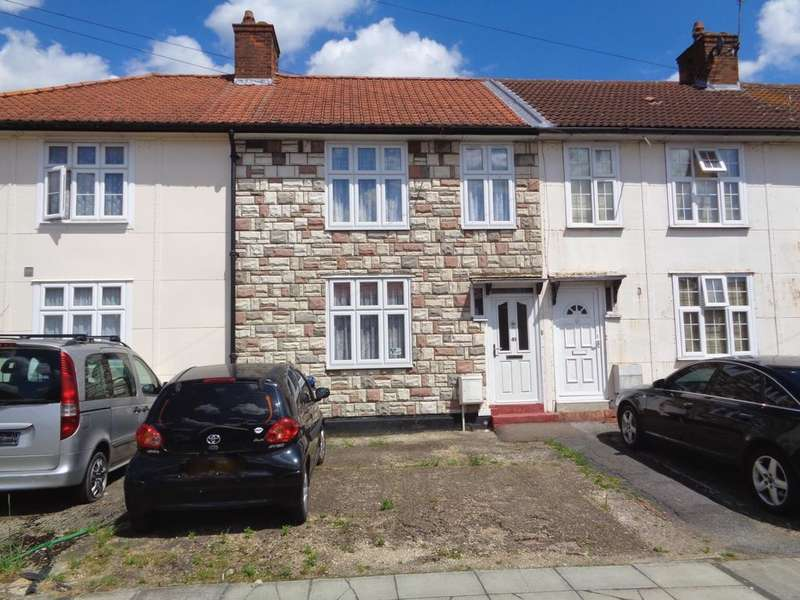 3 Bedrooms Terraced House for sale in Homefield Road, Edgware, HA8