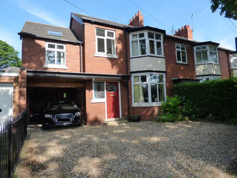4 Bedrooms Semi Detached House for sale in Admiral Walker Road, Beverley, HU17 8NR