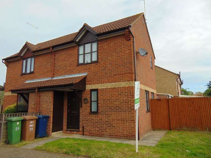 1 Bedroom End Of Terrace House for sale in Peterhouse Crescent, March, Cambridgeshire, PE15 8QT