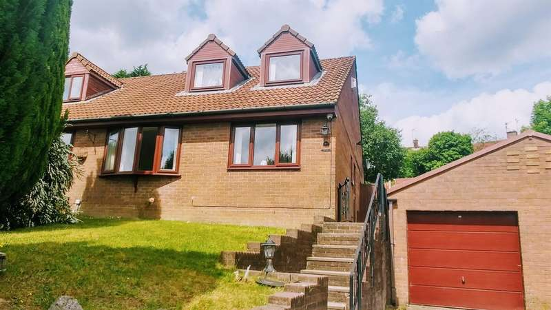 3 Bedrooms Semi Detached House for sale in Heol Cwm Ifor, Caerphilly