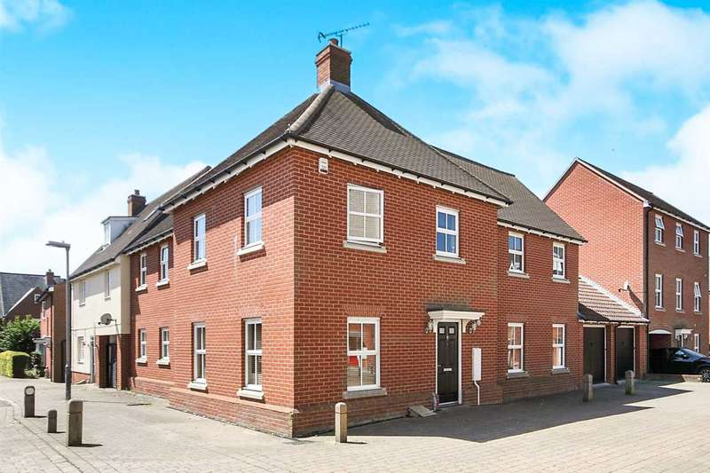 4 Bedrooms Detached House for sale in John Lawrence Walk, Colchester