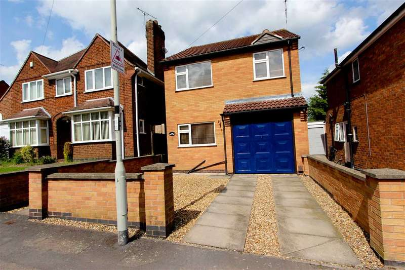 3 Bedrooms Detached House for sale in Dalby Road, Anstey, Leicester