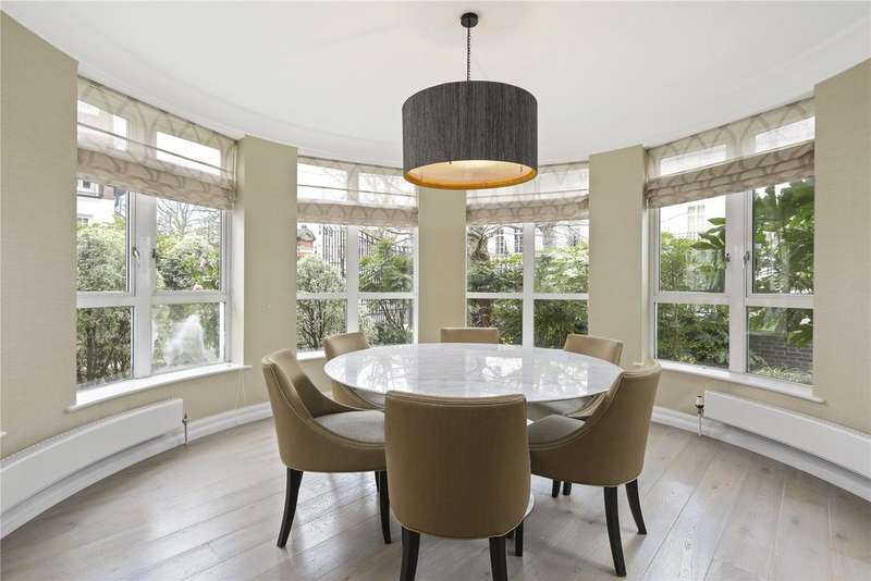 3 Bedrooms Flat for sale in Sandalwood Mansions, Stone Hall Gardens, W8