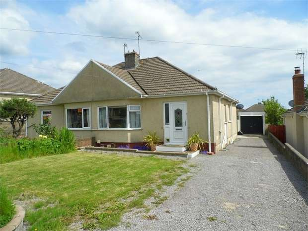 2 Bedrooms Semi Detached Bungalow for sale in Merlin Crescent, Cefn Glas, Bridgend, Mid Glamorgan
