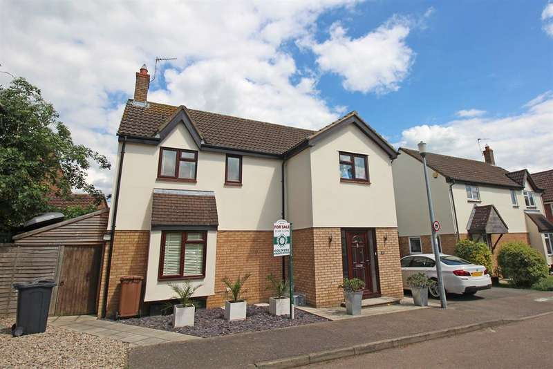 4 Bedrooms Detached House for sale in The Hedgerows, Stevenage, SG2 7BW