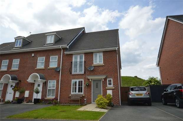 3 Bedrooms End Of Terrace House for sale in Sparks Croft, Port Sunlight, Merseyside