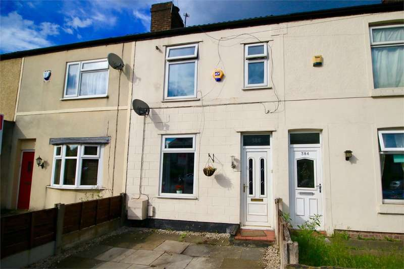 2 Bedrooms Terraced House for sale in 386 Worsley Road, Eccles, MANCHESTER