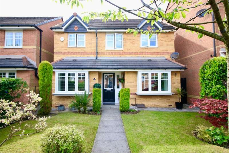 4 Bedrooms Detached House for sale in Lentworth Drive, Worsley, Manchester
