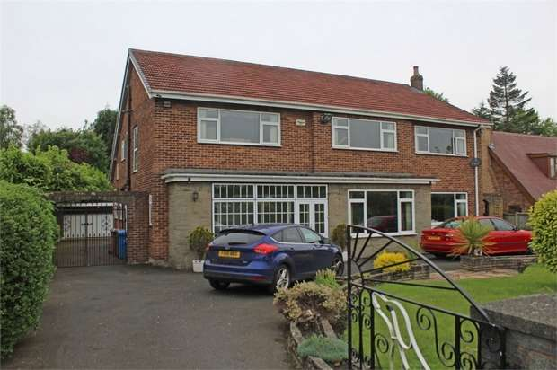 4 Bedrooms Detached House for sale in Ormskirk Road, Knowsley, Prescot, Merseyside