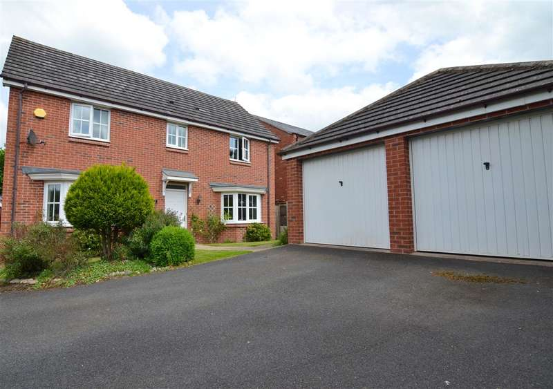 4 Bedrooms Detached House for sale in Hunters Close, Stafford