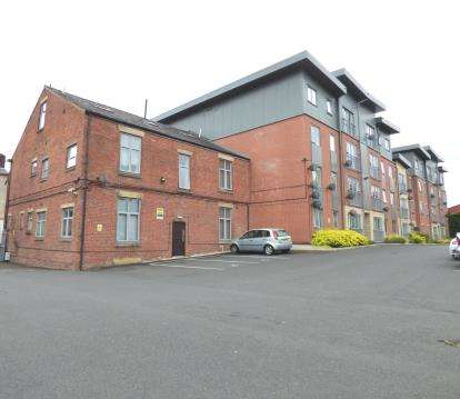 1 Bedroom Flat for sale in Grimshaw Place, Preston, Lancashire, PR1