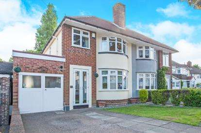 3 Bedrooms Semi Detached House for sale in Endhill Road, Kingstanding, Birmingham, West Midlands