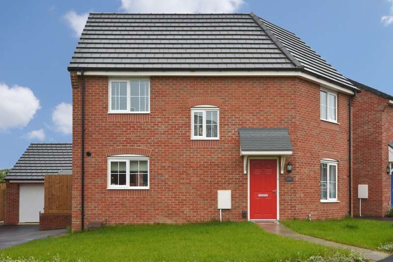 3 Bedrooms Detached House for sale in Skimmer Close, Northampton, Northamptonshire, NN4