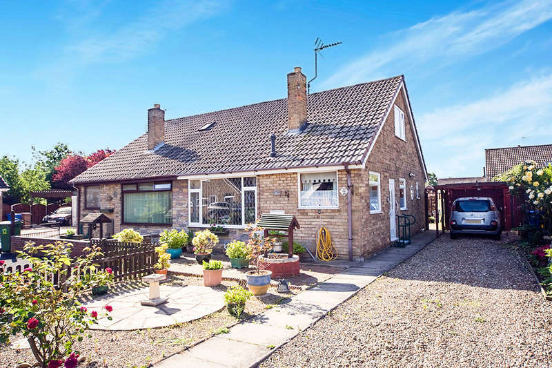 3 Bedrooms Semi Detached Bungalow for sale in Chestnut Drive, Gilberdyke, Brough, HU15