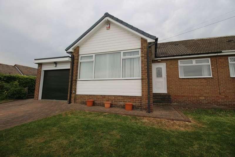 3 Bedrooms Semi Detached Bungalow for sale in Brandon Close, Winlaton, Blaydon-On-Tyne, NE21