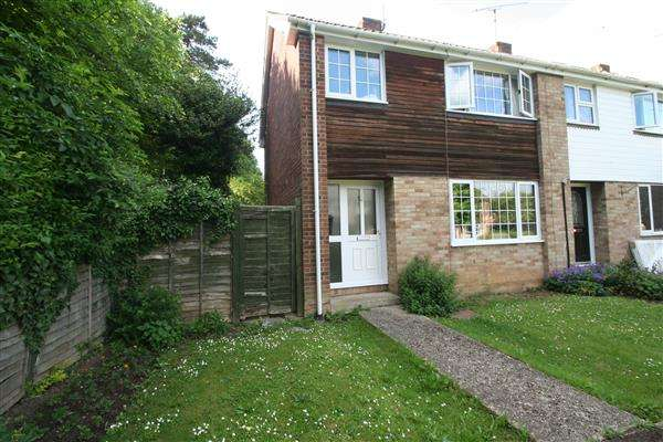 3 Bedrooms End Of Terrace House for sale in Kings Furlong, Basingstoke, Hampshire