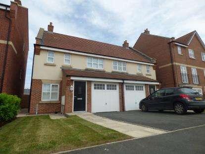3 Bedrooms Semi Detached House for sale in Windward Avenue, Fleetwood, FY7