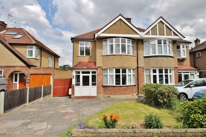 3 Bedrooms Semi Detached House for sale in Elmbridge Avenue, Surbiton