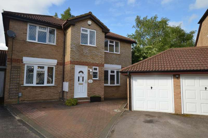 4 Bedrooms Detached House for sale in Tylers Mead, Bushmead, Luton, Bedfordshire, LU2 7XY