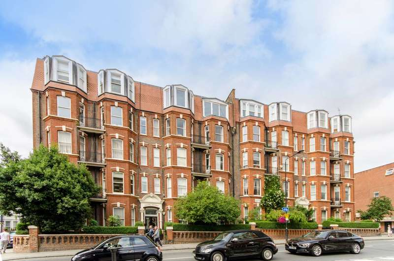 4 Bedrooms Flat for sale in Sandwell Mansions, West Hampstead, NW6