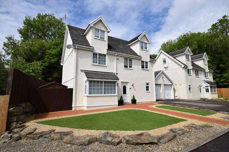 4 Bedrooms Detached House for sale in 1 The Woods, Briary Way, Brackla, Bridgend