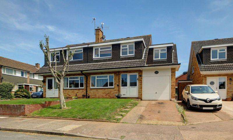 4 Bedrooms Semi Detached House for sale in Spinney Close, Exeter