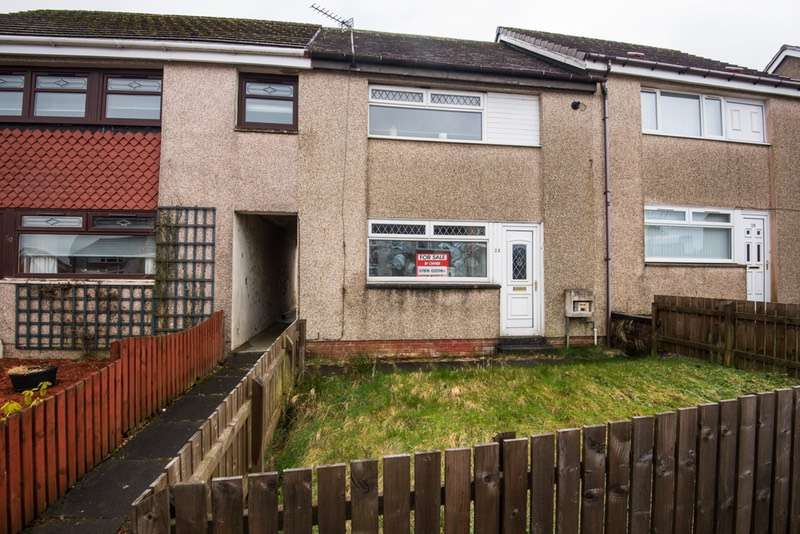 2 Bedrooms Terraced House for sale in Tulloch road, Shotts, Lanarkshire, ML7