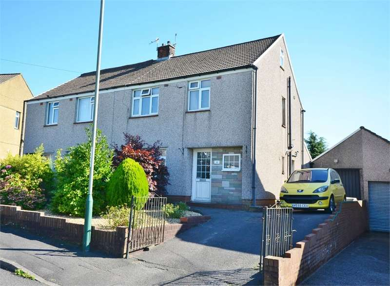 3 Bedrooms Semi Detached House for sale in Meadow Crescent, Caerphilly, CF83