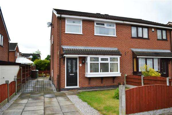 3 Bedrooms Semi Detached House for sale in Edmund Drive, Leigh
