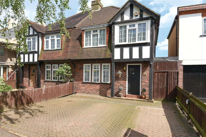 4 Bedrooms Semi Detached House for sale in The Fairway, Ruislip, Middlesex, HA4
