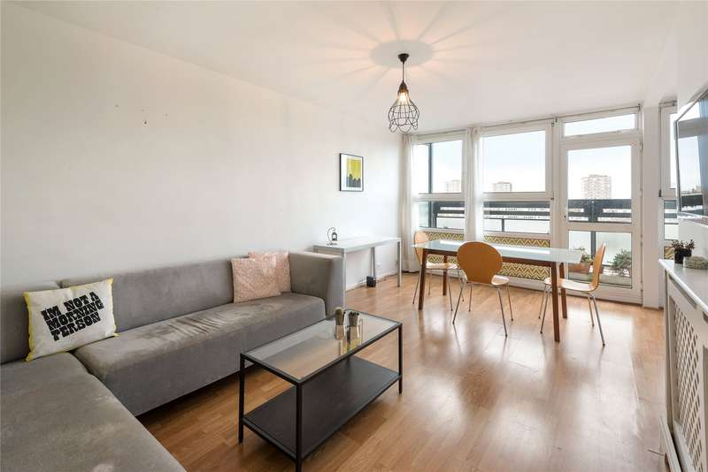 2 Bedrooms Flat for sale in Ethelburga Tower, Rosenau Road, London, SW11