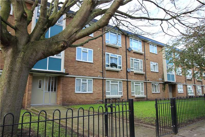 2 Bedrooms Flat for sale in Kingsmead Close, Derby, Derbyshire, DE1
