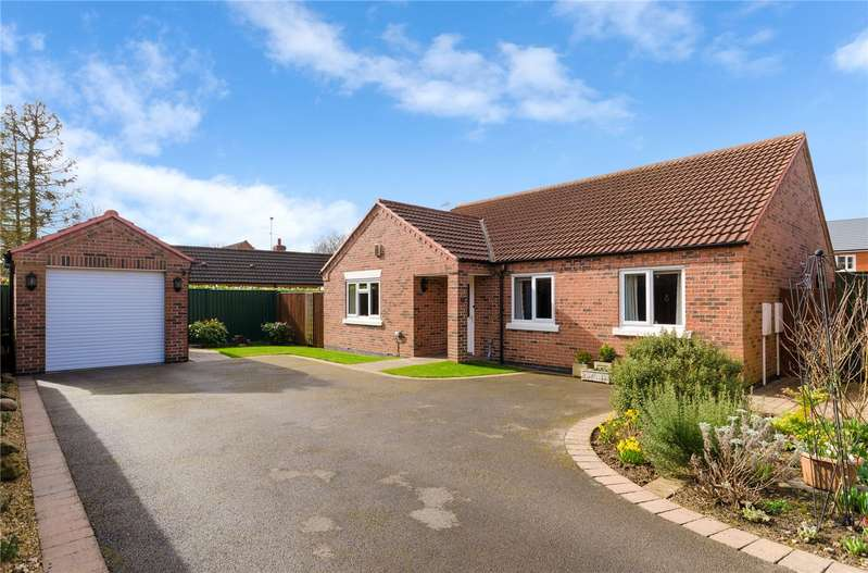 3 Bedrooms Detached Bungalow for sale in Brisson Close, Grantham, NG31